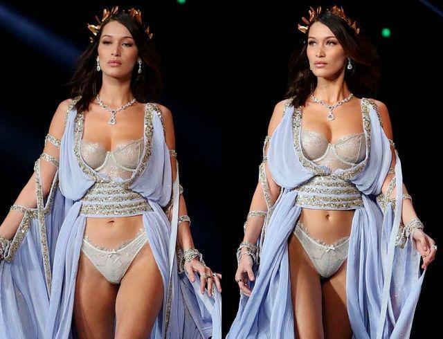 Конфуз на Victoria's Secret-2017: Белла Хадид в очередной раз сверкнула грудью (ФОТО)