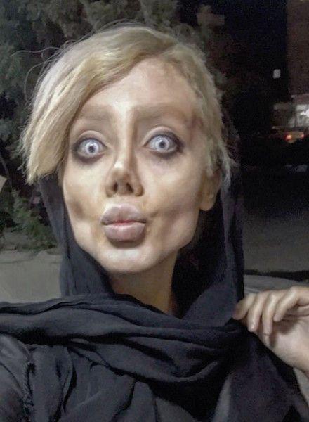 Она мечтала быть похожей на Джоли, а превратилась в мумию