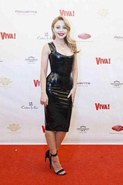 Тина Кароль в сексуальном латексном платье: такой вы ее еще не видели! (ФОТО)