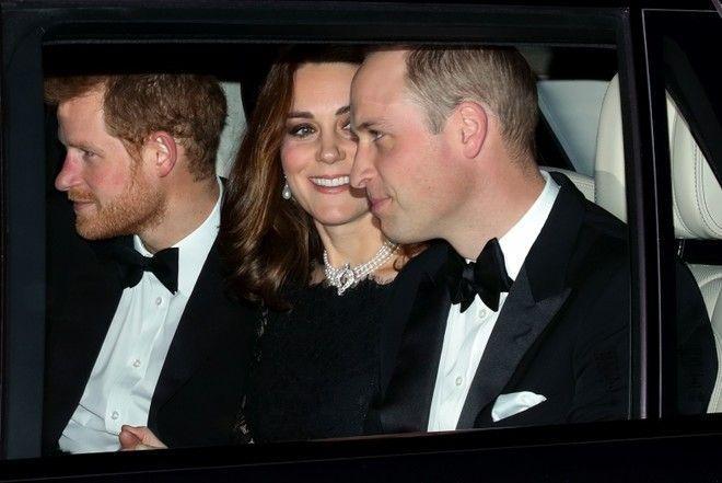 Дала поносить: Кейт Миддлтон надела ожерелье Елизаветы II
