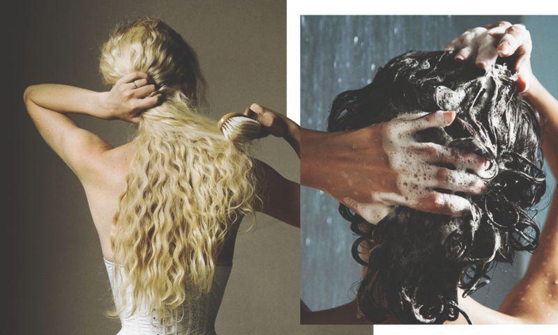 8 ошибок, которые ты совершаешь при мытье волос
