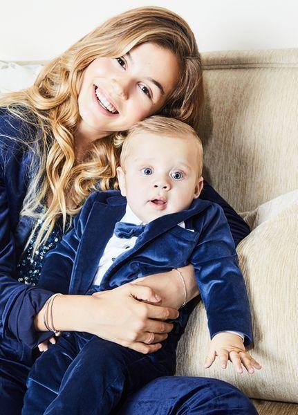 Анна Седокова снялась в первом фотосете с главным мужчиной всей её жизни — сыном Гектором (ФОТО)