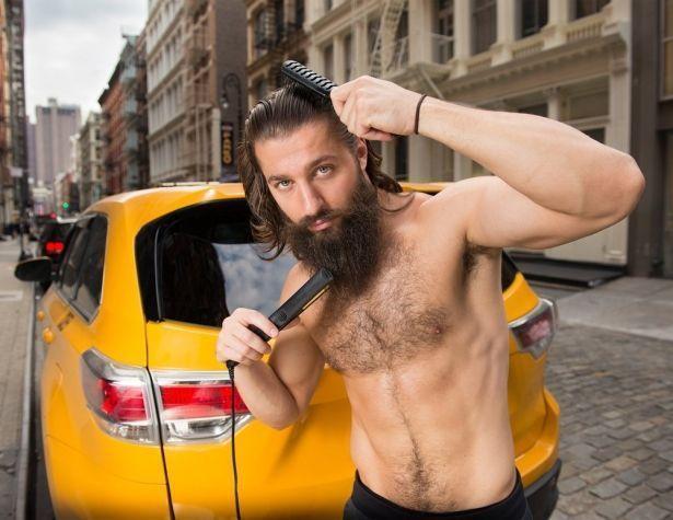 Антигламур с благородной целью: таксисты из Нью-Йорка выпустили эротический календарь в духе французcких пожарных (ФОТО)