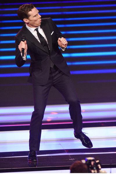 Бенедикт Румбабэтч! Камбербэтч рассмешил публику танцами в Монте-Карло