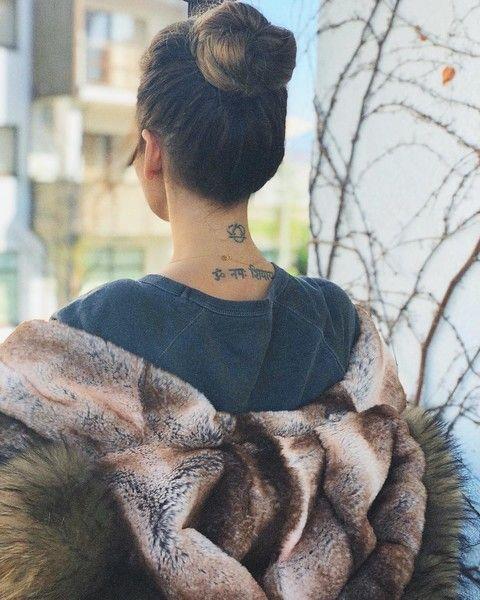 Анфиса Чехова объяснила смысл своей татуировки