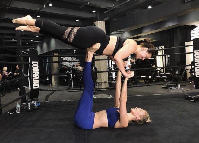 Plus-sized модель сделала упражнение, на которое не решится и балерина