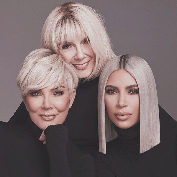 Ким Кардашьян показала бабушку и маму в новой семейной фотосессии (ФОТО)