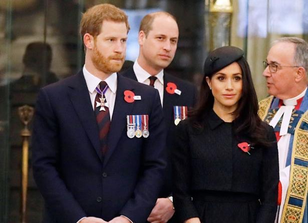 Официально: принц Уильям будет шафером на свадьбе принца Гарри и Меган Маркл