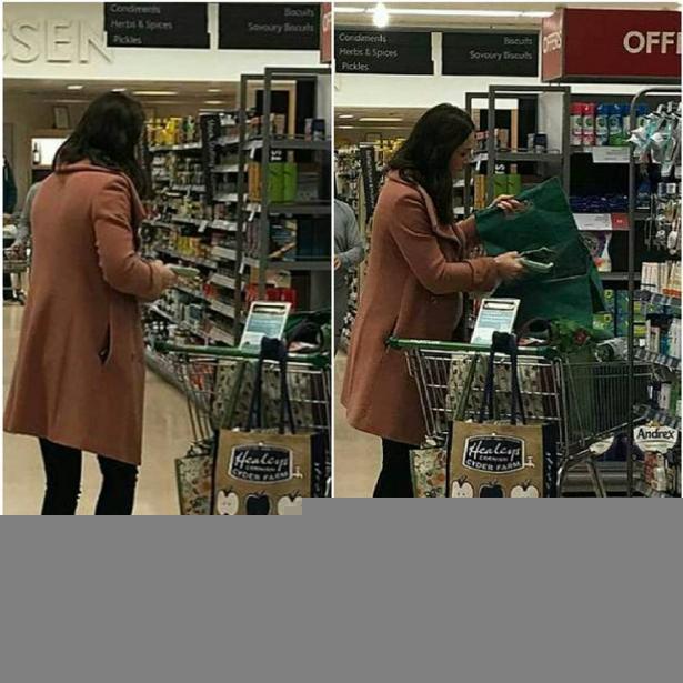 Почему Кейт Миддлтон не узнали в супермаркете? (ФОТО)