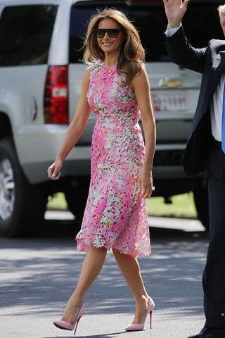 «Платье пенсионерки»: модный промах Бородиной