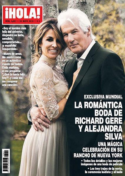 «Я самый счастливый!»: 68-летний Ричард Гир женился на 35-летней модели