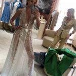 49-летняя Светлана Бондарчук появилась в «голом» платье