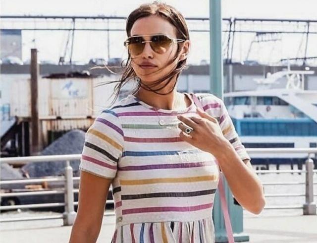 Ирина Шейк появилась в новом платье — поклонники обсуждают ее беременность (ФОТО)