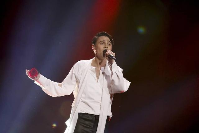 Трогательный ALEKSEEV с песней Forever выступил на Евровидении-2018