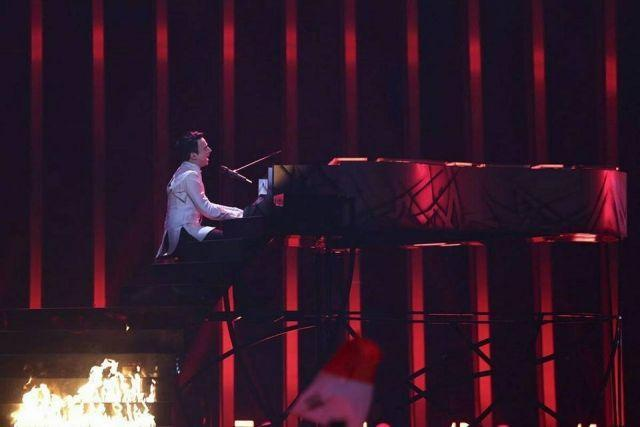 MELOVIN — Under The Ladder: как представитель Украины выступил в финале Евровидения