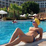 44-летняя звезда сериала «Воронины» похвасталась плоским животиком
