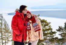 Регина Тодоренко и Влад Топалов сходили на концерт Эда Ширана в Лондоне (ФОТО)