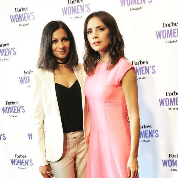 Виктория Бекхэм в непривычном образе посетила саммит Forbes (ФОТО+ГОЛОСОВАНИЕ)