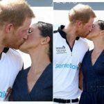 Меган Маркл и принц Гарри впервые после свадьбы поцеловались на публике (ФОТО+ВИДЕО)