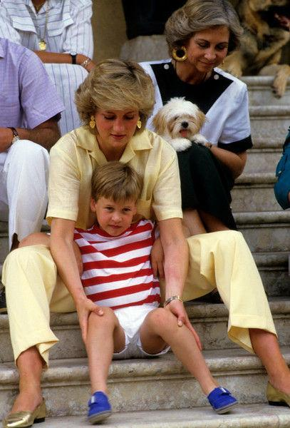 Принц Уильям копирует приемы воспитания принцессы Дианы