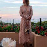 Модно, но неприлично: Собчак в кружевном платье на голое тело