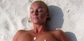 Анастасия Волочкова снова показала поклонникам обнаженную грудь (фото)