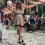 Хилькевич после родов приходится носить одежду для беременных