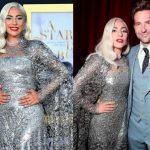 """Леди Гага блеснула в роскошном платье от Givenchy на премьере """"Звезда родилась"""" (ФОТО)"""