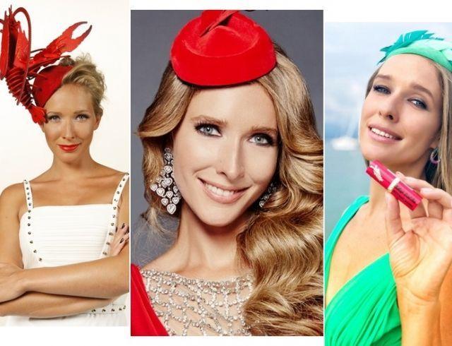 Дама в шляпе: вспоминаем удивительные головные уборы Кати Осадчей к 35-летнему юбилею
