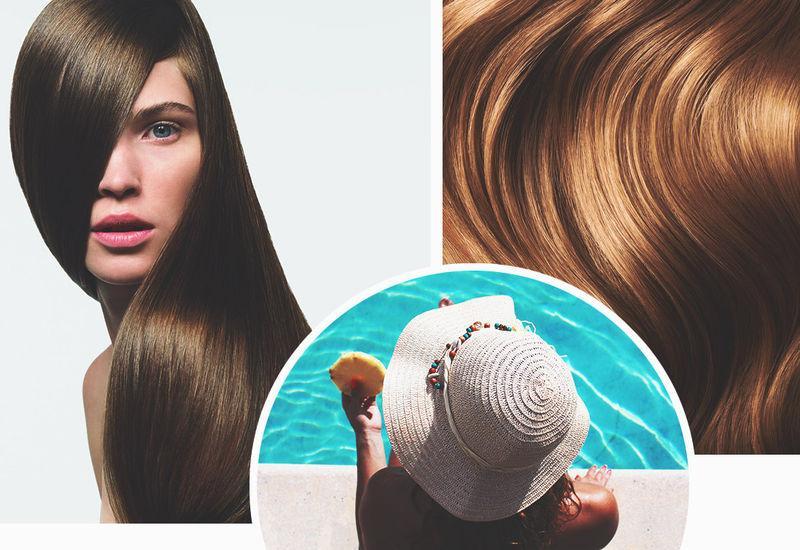 Как ухаживать за окрашенными волосами после отпуска