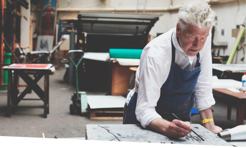 В Москве пройдет бесплатная выставка работ Дэвида Линча