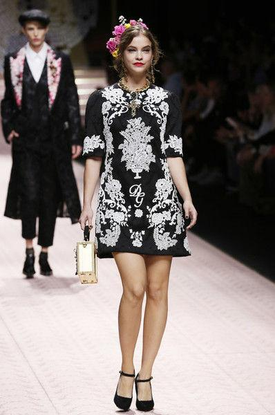 Эшли Грэм и другие секс-символы на показе Dolce & Gabbana