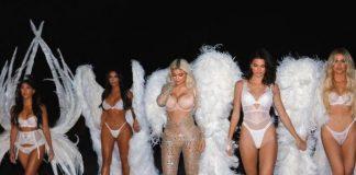 Отряд Victoria's Secret: сестры Кардашьян стали моделями на Хэллоуин-2018
