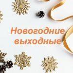 Выходные на Новый год в Украине: сколько дней отдыхаем