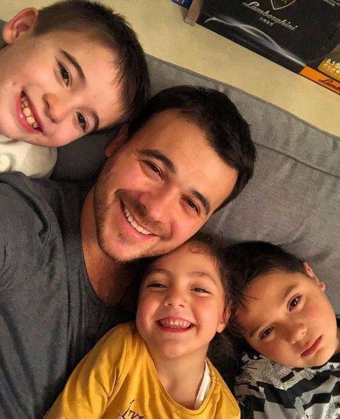 10 снимков, доказывающих, что Эмин – идеальный папа