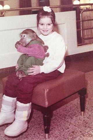 Ксения Бородина поделилась детским архивным фото