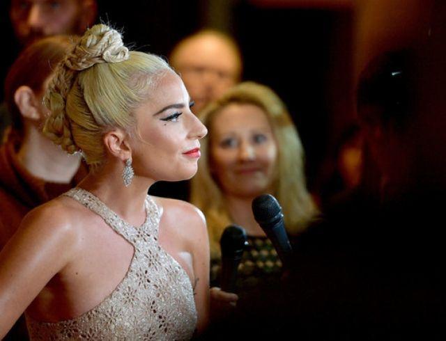 Леди Гага: полупрозрачное платье на вручении Cinematheque Award (ФОТО)