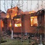 У юмориста Бандурина сгорел двухэтажный дом