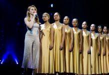 Тина Кароль на церемонии М1 Music Awards покорила грандиозным 11-минутным выступлением