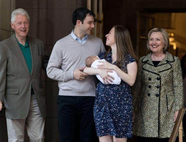 Челси Клинтон ждет третьего ребенка!