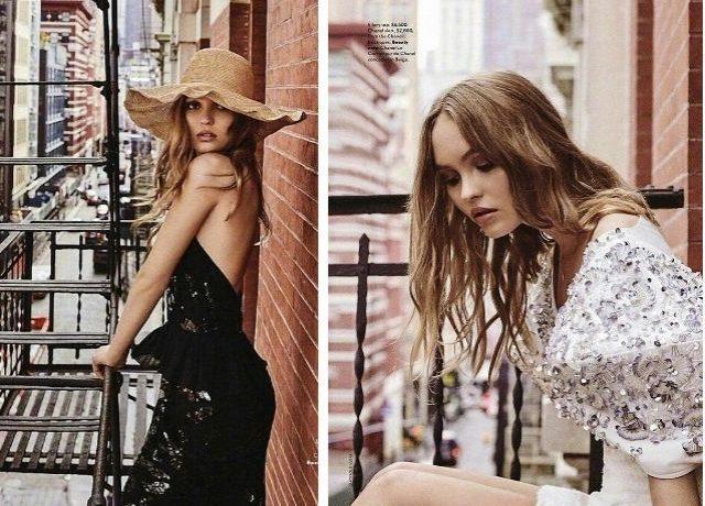 Дочь Джонни Деппа блеснула в новой фотосессии для Vogue Australia (ФОТО)