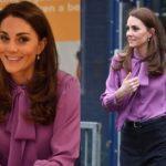 Кейт Миддлтон в модном образе посетила детский центр в Лондоне (ФОТО)