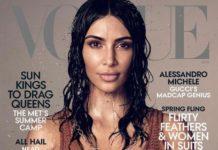Ким Кардашьян впервые появилась на обложке американского Vogue (ФОТО)
