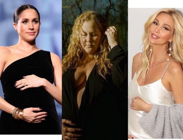 Меган Маркл, Эми Шумер, Виктория Лопырева и другие звезды на девятом месяце беременности