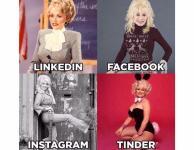 Звезды в тренде: новый челлендж про Tinder, Instagram, Facebook иLinkedIеn